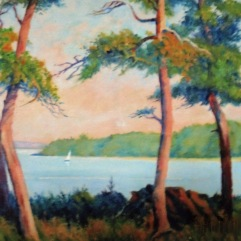 frank-reeves-green-trees-and-lake